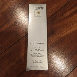 Lancome Other - Lancôme Color Ideal Foundation