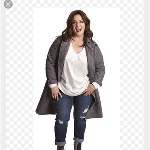 Jackets & Blazers - Melissa McCarthy seven7 quilted Coat- Missy