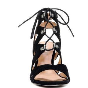 XOXO Shoes - XOXO Footwear 'Barnie Laceup Sandal'