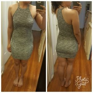 Dresses & Skirts - Grey bodycon summer dress