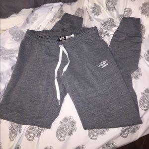 Umbro Pants - Gray Joggers! Soooo comfy!