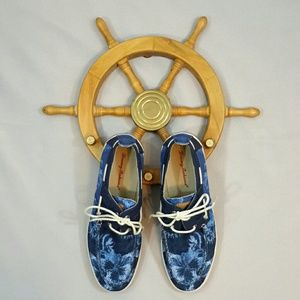 Tommy Bahama Calderon Indigo Deck Shoe Mens 9.5M