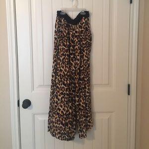 Boutique Leopard print palazzo pants