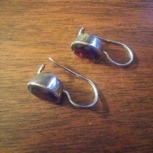 A2 By Aerosoles Jewelry - Sterling and natural garnet earrings