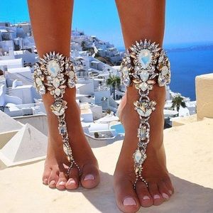 Boutique Jewelry - ✨Sexy Chic Boho Crystal Embellished Anklet✨