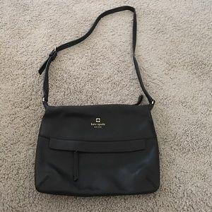 ***SALE***Black leather Kate Spade crossbody bag
