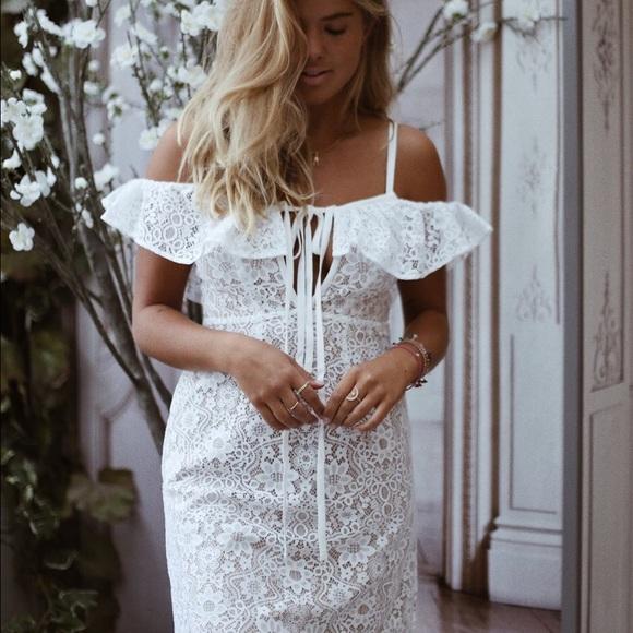 e088b9062aeab For Love and Lemons Dresses | For Love Lemons Rosemary Midi Dress ...