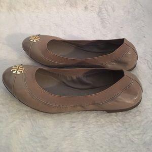 44ea80997 Tory Burch Shoes - TORY BURCH JOLIE BALLET FLAT French grey