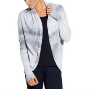 CALIA by Carrie Underwood Sweaters - CALIA Effortless Striped Cocoon Sweater-NWT