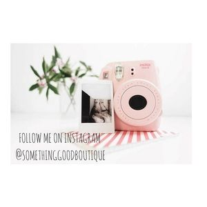 Follow me on Instagram for free shipping! 📷
