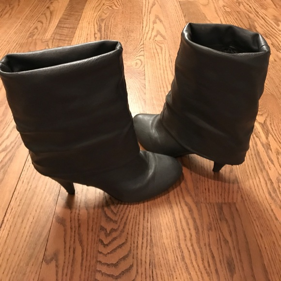 Charlotte Russe Shoes - Convertible mid calf to knee high boots