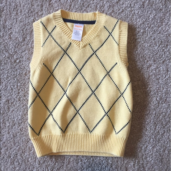 Nwot Gymboree Mad About Plaid Sweater Vest Size 5 Clothing, Shoes & Accessories Sweaters