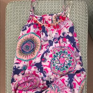 Lilly Pulitzer colorful coverup