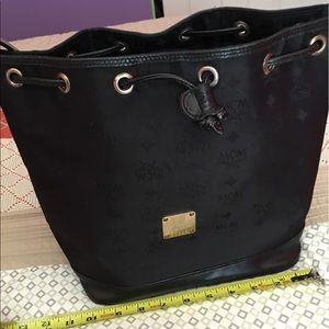 MCM Handbags - Auth MCM hobo bag preowned large size