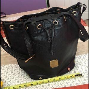 MCM Handbags - Authentic MCM hobo leather bag