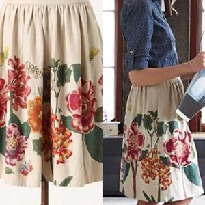 Final Price Anthropologie NWT Embroidered Skirt