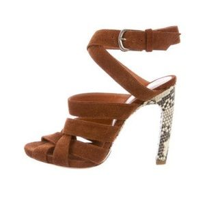 Dries Van Noten Shoes - NIB DRIES VAN NOTEN CROSSOVER SUEDE SANDALS