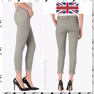 Hudson Jeans Denim - Hudson Jeans Sierra Mid Rise Skinny Chino in Sage