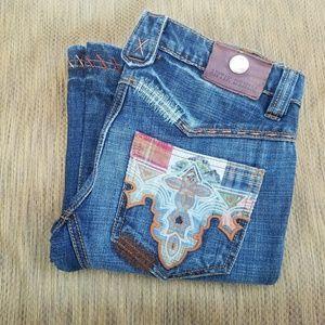 Antik Denim Denim - ANTIK Embroidered Bootcut Jeans