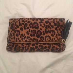 Sole Society Handbags - Sole Society leopard clutch