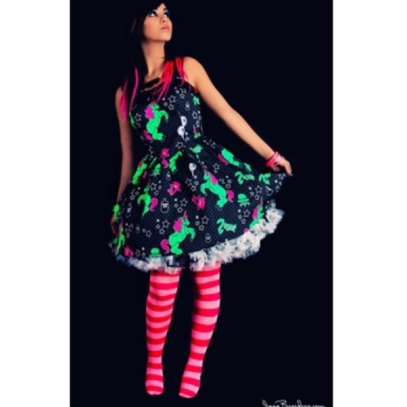 2e199e605e4ca Hell Bunny Dresses | Hp I Love Zombies Dress | Poshmark