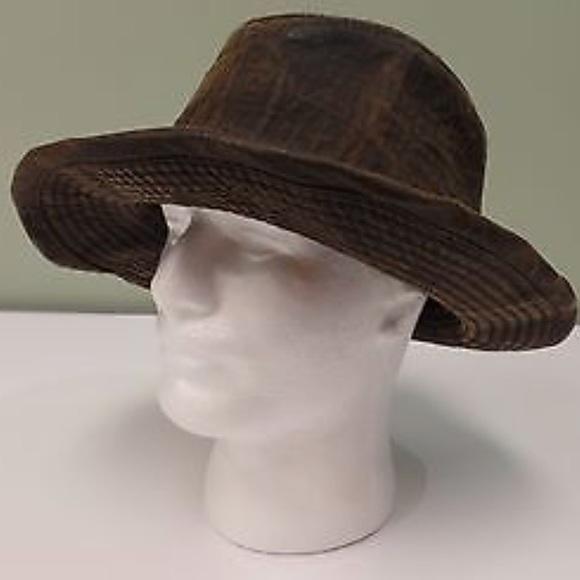 Disney Other - Indiana Jones Hat Fedora Brown Disney Lucas 836ea3b7c2f