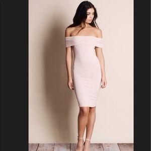 Aluna Levi Dresses & Skirts - THE AUSTIN.  NWT OFF THE SHOULDER DRESS.