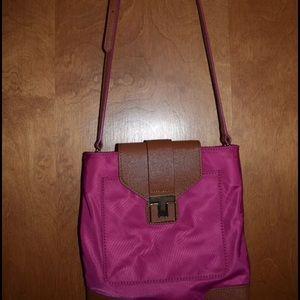 Tory Burch Handbags - Tory Burch Pink Nylon Purse