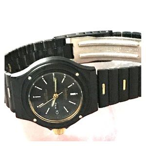 Armitron Accessories - Armitron Quartz- Black & Gold Watch 😍💖
