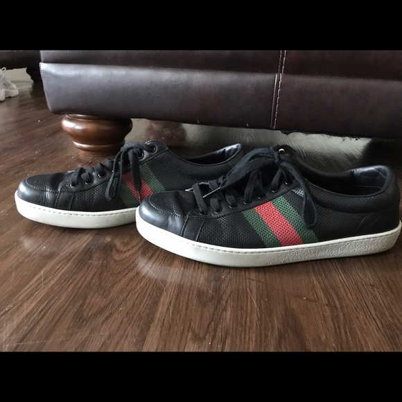 Gucci Shoes | Ace Low Top Lace Up