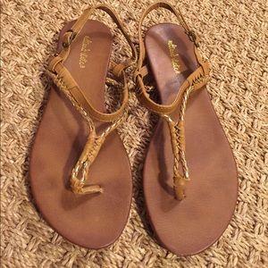 **SHOE SALE** Leather sandals!
