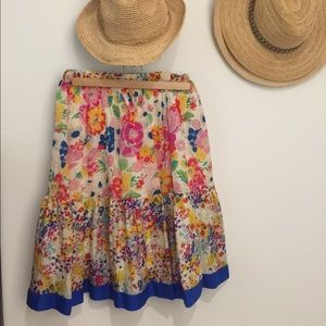 Johnny Was Dresses & Skirts - Johnny Was Floral Skirt