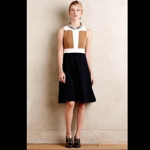 SALE! Maeve/Anthropologie-Colorblock sweater dress