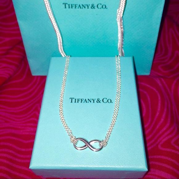 9cd01164e Tiffany's infinity double chain 16 in. necklace. Tiffany & Co.  M_59bb3e73291a3509ed00c490. M_5938cbb8d14d7bd34901caf6