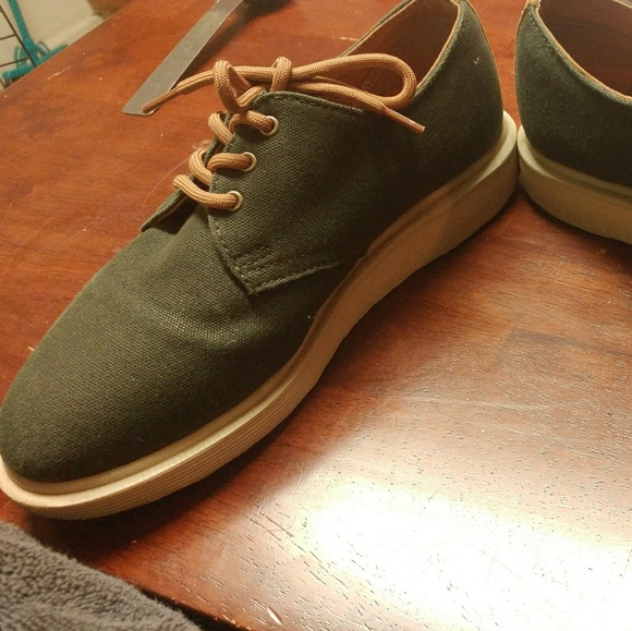 92 shoes canvas green doc martens last chance