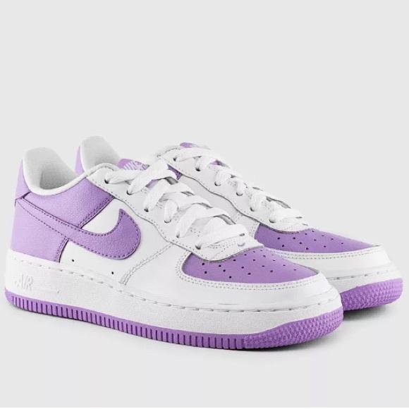 White Force 1 Air Shoes Size Nwt Womens Lilac Nike 8 5 PiZukX