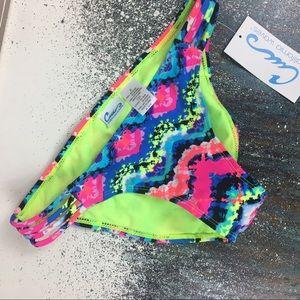 California Waves Other - NEW California Waves Strappy Side Bikini Bottom S