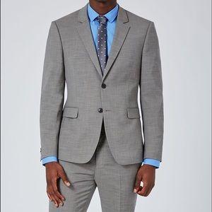 Topman Other - TOPMAN Men's Muscle Fit Suit Jacket 42R Pants 34R