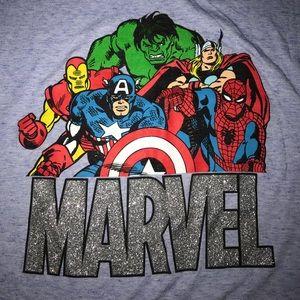 Marvel Tops - Marvel V-Neck T