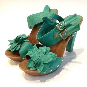 Shoes - Sandal heel