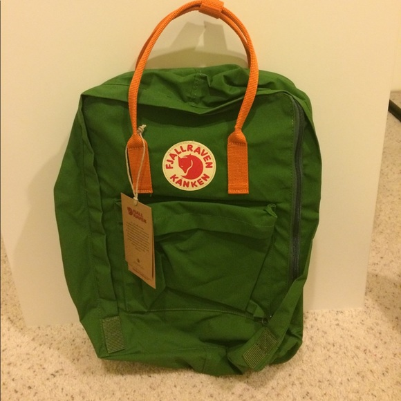 kanken leaf green