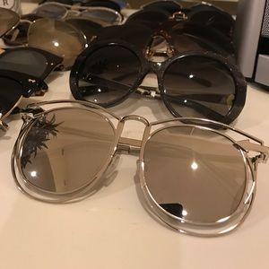 Karen Walker Simone Retro Sunglasses