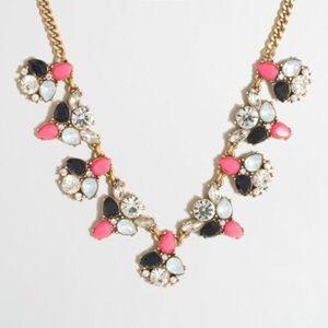 SALE! J Crew alternating clusters necklace