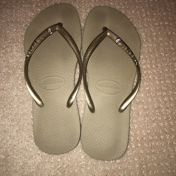 f2ba57ffb9bca5 Havaianas Shoes - JEWELED HAVAIANAS FLIP FLOPS
