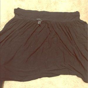 Lane Bryant knee length float skirt