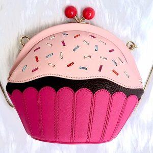 🆕KATE SPADE 🍰Cake Cupcake Crossbody Bag Purse