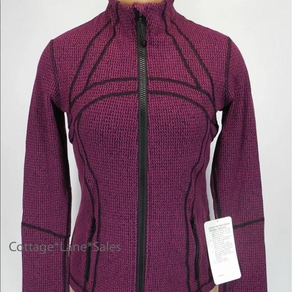 Lululemon Athletica Jackets Coats Lululemon Define Fuchsia