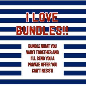 Other - Bundle bundle bundle!!