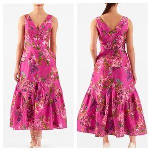 eshakti Dresses & Skirts - Eshakti Pink Floral Dress