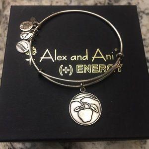 Alex And Ani Jewelry - Alex and Ani Apple Tree Retired Rare